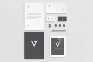 逼真品牌VI设计演示企业办公用品样机2 Branding / Identity Mock-up 2插图9