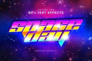 80年代文本图层样式 80s Text Effects插图6