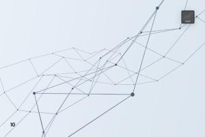 带连接线粒子抽象图形PS笔刷 Particles with Connected Lines Photoshop Brushes插图11