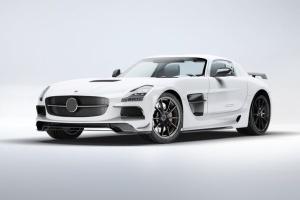 超级豪华跑车梅赛德斯SLS AMG样机模板 Supercar Mercedes SLS AMG Mock-Up插图3