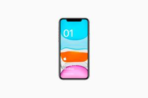 全新iPhone 11手机屏幕界面演示样机模板[PSD格式]插图2