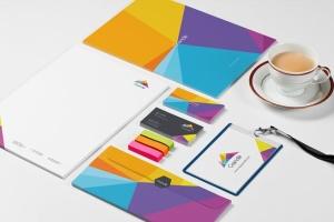 品牌设计展示办公文具等距场景样机 Stationery Mockup Set插图2