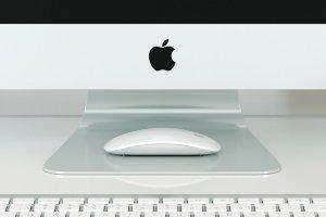 5K分辨率iMac实景场景样机模板 iMac Mockup – 5k – (1 PSD)插图3