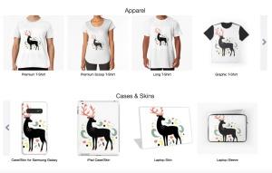 动物手绘装饰图案插画素材 Decorative Animals Illustrations插图3