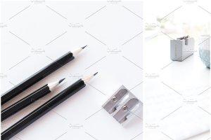 办公场景博客社交媒体贴图样机 NEW   Minimalist Stock Photo Bundle插图13