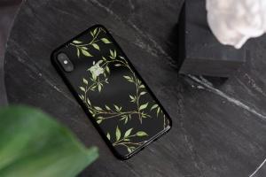 iPhone Xs透明手机壳外观设计效果图样机v2 iPhone Xs Clear Case Mock-Up vol.2插图11