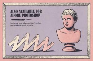 70年代转印凹模样板图案纹理套装 LITHOTONE: Distressed Pattern Swatches插图8