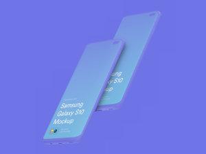三星智能手机S10超级样机套装 Samsung Galaxy S10 Mockups插图24