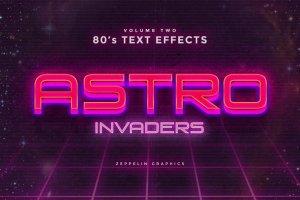 80年代文本图层样式 80s Text Effects插图9