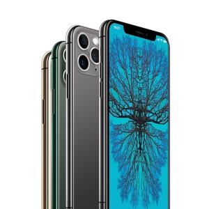 2019全新一代iPhone 11 Pro侧立面正反面视图样机模板 iPhone 11 Pro Layered PSD Mock-ups插图2