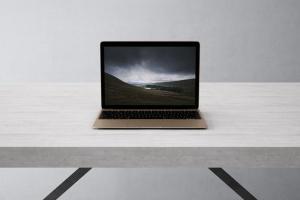 高品质的笔记本电脑设备展示样机 Laptop Mock-Up插图2