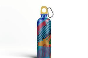 金属运动水杯外观样机模板 Reusable Water Bottle MockUp插图5