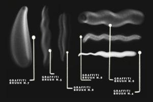 涂鸦艺术插画创作Procreate笔刷工具箱 The Graffiti Box: Procreate Brushes插图3