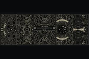 蒸汽朋克风格海报设计模板 5 Steampunk poster template插图1