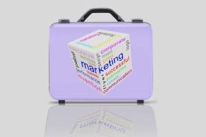 商务旅行手提箱/行李箱外观设计样机模板 Business suitcase Mockup插图5