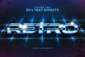 80年代文本图层样式 80s Text Effects插图11