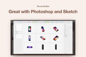 APP UI设计展示iPhone 8样机模板 HERO Phone 8 Mockups插图6