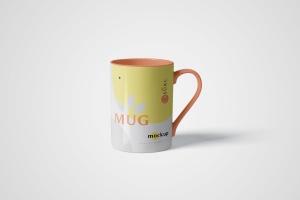 马克杯图案设计多视觉预览样机模板 5 Mug Mockups插图1