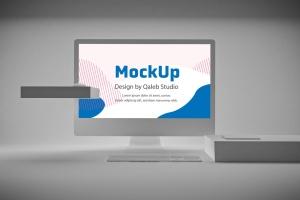极简设计风格iMac一体机电脑样机v2 Clean iMac Pro V.2插图3