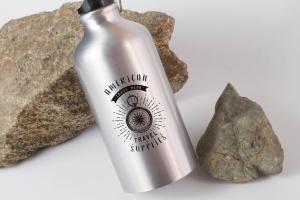 钢本色运动水杯样机展示模板 Sport Bottle Mock Up插图3