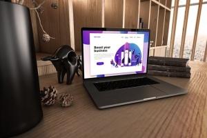 真实场景Macbook笔记本网页UI设计展示样机v1 MacBook Pro V.1插图2