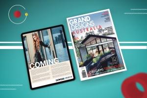 杂志印刷设计/杂志APP设计图预览样机样机 Abstract Magazine App Mouckup插图5