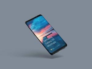 超级主流桌面&移动设备样机系列:Samsung Galaxy S9  三星智能手机样机 [兼容PS,Sketch;共2.11GB]插图6