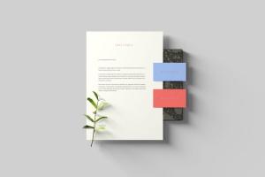 创意办公用品套件品牌VI设计预览样机 Branding Stationery Mockups插图3