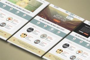 3D立体图网站UI设计效果图样机 3d Website Display Mockup插图6