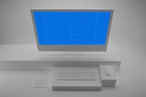 极简设计风格iMac一体机电脑样机v2 Clean iMac Pro V.2插图10