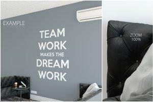 办公室墙纸设计样机模板合集 OFFICE Interior Wall Mockup Bundle插图14