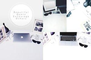 写实办公场景桌面图像 TwoTones Styled Desktop Stock Bundle插图4