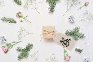 圣诞节礼物标签矢量设计图形素材 Christmas Gift Tags插图10