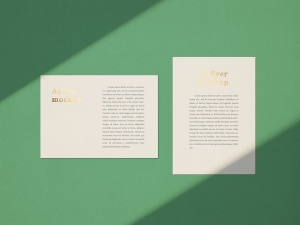 品牌VI设计系统办公用品印刷品套件样机 Stationary Mockup — Set 1插图14