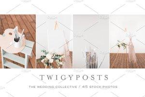 婚礼场景照片样机合集 Ultimate Wedding Stock Photo Bundle插图8
