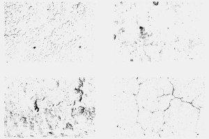 做旧污迹矢量文本特效AI图层样式 Vector Textures Volume 4插图5
