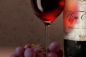 陈酿葡萄酒品牌样机 Aged Wine Mock-Up插图1