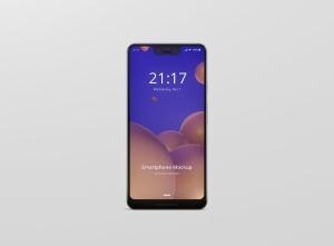谷歌智能手机Pixel 3 XL屏幕预览样机模板 Smart Phone Mockup Pixel 3 XL插图13