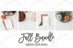 现代简约风办公场景样机 Fall Stock Photo Bundle插图4