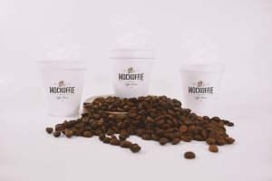 咖啡纸杯设计效果图样机模板 Coffee Cups Mockup插图1