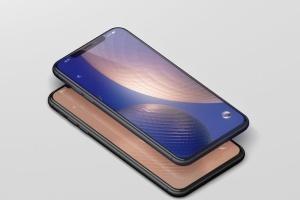 高品质的iPhone XS Max智能手机样机模板 Phone XS Max Mockup插图13
