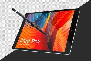 多角度的iPad Pro展示模型Mockup下载[psd]插图5