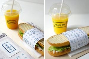 三明治咖啡馆食品品牌样机模板 Sandwich cafe Mockup插图7