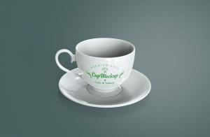 陶瓷茶杯咖啡杯外观设计样机模板v2 Cup Mockup 2.0插图5