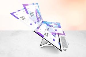 微软一体机电脑样机模板 Surface Studio Mockup V.2插图7