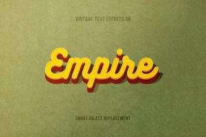 复刻电影加州梦风格文本图层样式 Retrica: Vintage Text Effects Pack插图7