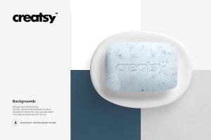 日用快消品肥皂样机模板 Soap Mockup Set插图4