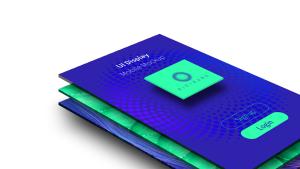 APP应用UI界面设计预览图样机模板01 UI Design – Mobile Display Mockup 01插图3