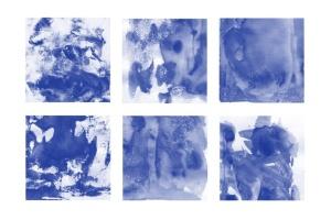 30款水彩绘画手工制作纹理肌理PS笔刷v3 30 Watercolor Texture Photoshop Brushes Vol. 3插图3