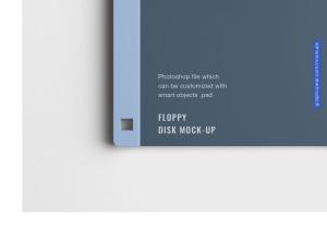 古董软盘外观设计样机模板 Floppy Disk Mockup插图4